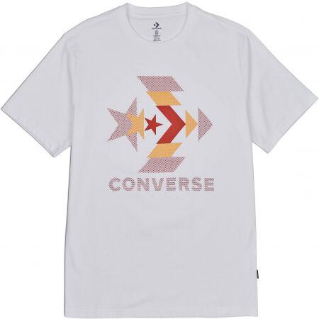 Converse ZOOMED IN GRAPPHIC TEE - Koszulka męska