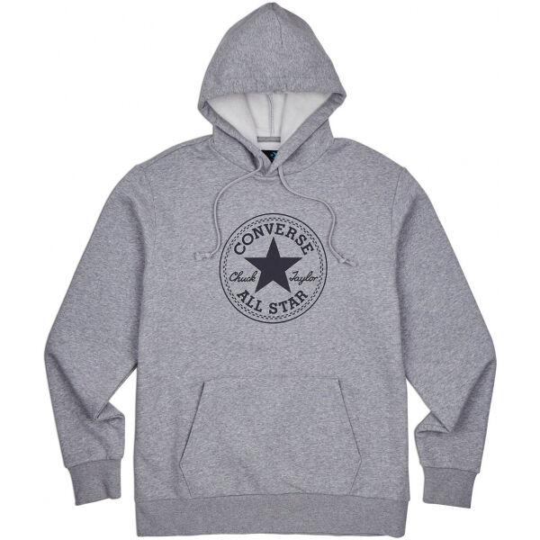 Converse CHUCK TAYLOR ALL STAR PATCH PULLOVER HOODIE - Pánska mikina