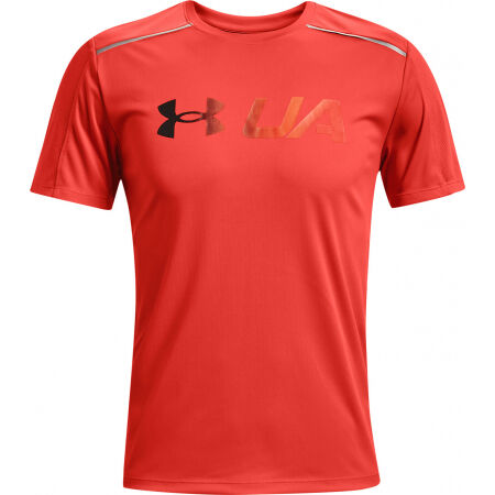Under Armour RUN GRAPHIC PRINT FILL SS - Мъжка тениска