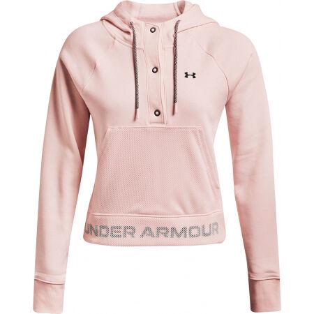 Under Armour RIVAL FLEECE MESH HOODIE - Women's sweatshirt