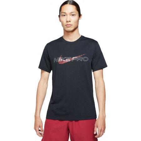 Nike DF TEE DB NK PRO M - Herren Trainingsshirt