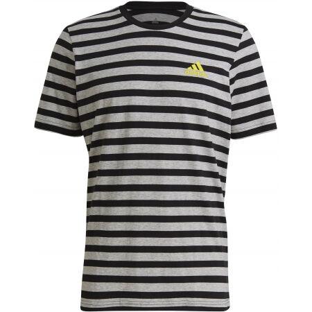 adidas STRIPY SJ TEE - Koszulka męska