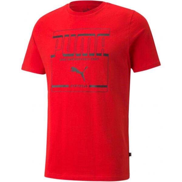 Puma GRAPHIC TEE - Pánske tričko