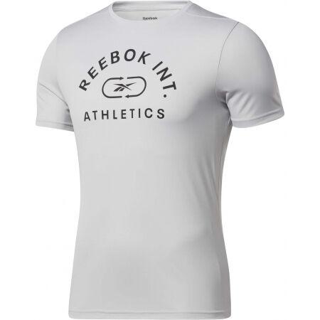 Мъжка тениска - Reebok WOR POLY GRAPHIC - 2