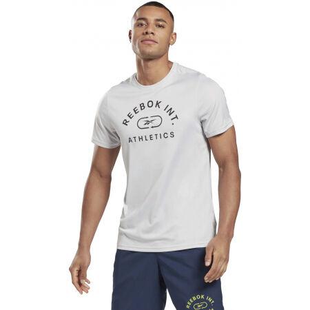 Мъжка тениска - Reebok WOR POLY GRAPHIC - 4