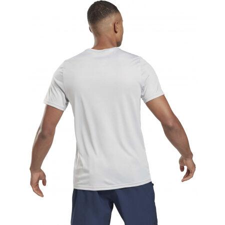 Мъжка тениска - Reebok WOR POLY GRAPHIC - 7