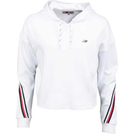 Tommy Hilfiger RELAXED DOUBLE PIQUE HOODIE LS - Dámská mikina