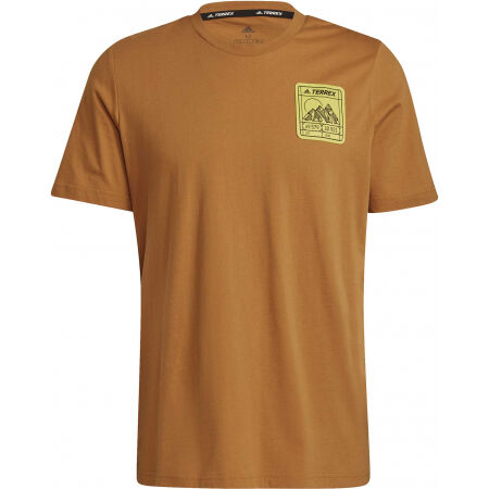 adidas TX PATC MTN TEE - Pánské outdoorové tričko