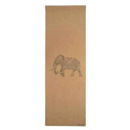 SHARP SHAPE CORK TRAVEL YOGA MAT ELEPHANT - Йога постелка