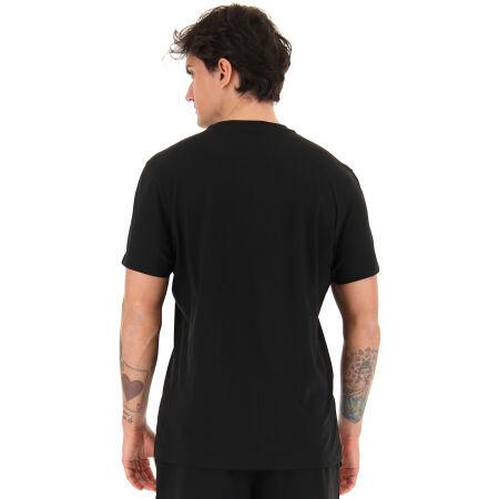 Koszulka męska - Lotto LOGO VI TEE BS JS - 5