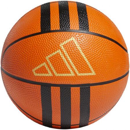 adidas 3-STRIPES RUBBER MINI - Mini kosárlabda