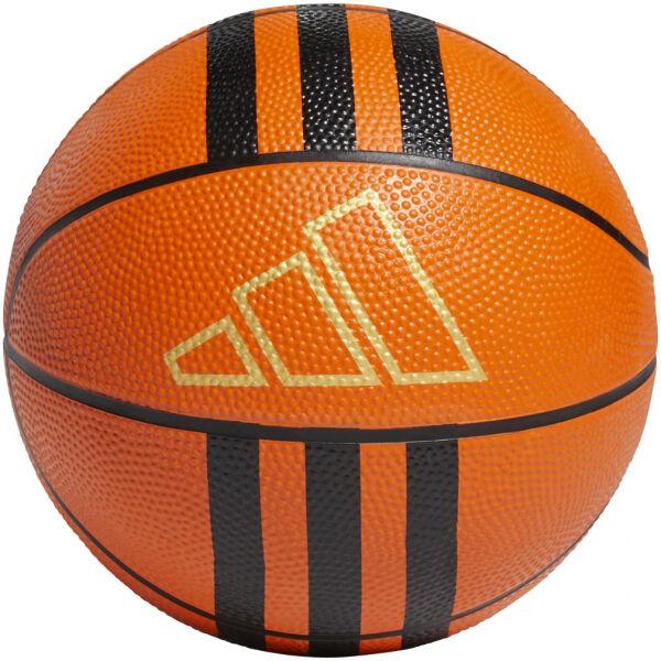 adidas 3-STRIPES RUBBER MINI - Mini basketbalová lopta