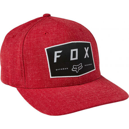 Fox BADGE FLEXFIT - Baseball sapka