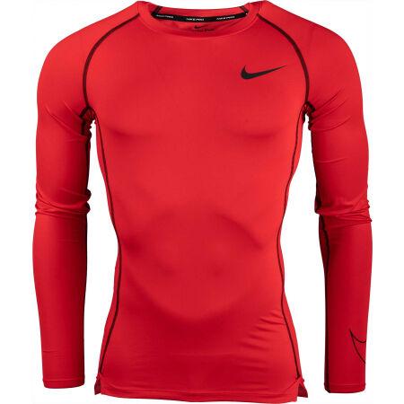 Nike NP DF TIGHT TOP LS M - Herren Trikot mit langen Ärmeln
