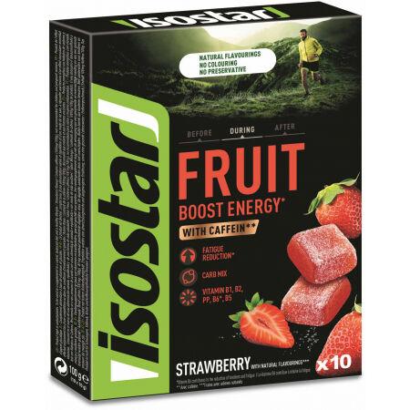 Isostar 10x10 G HIGH ENERGY FRUIT BOOST - Energy želé