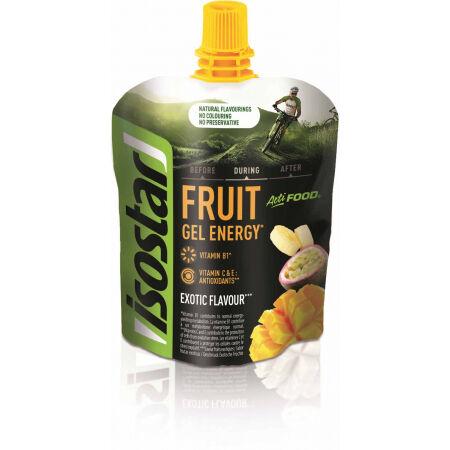 Isostar GEL ACTIFOOD EXOTICKÉ OVOCE 90G - Energetický gel s kousky ovoce