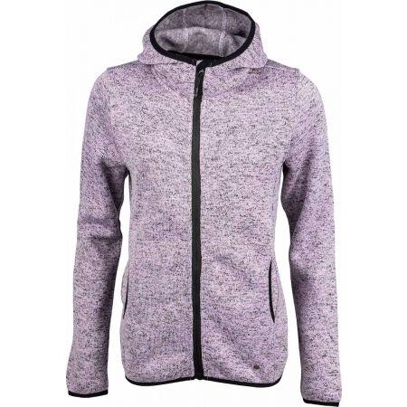 Willard DEJA - Women's fleece sweatshirt in pullover design