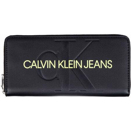 Calvin Klein SCULPTED MONO Z/A - Dámská peněženka