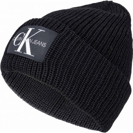 Calvin Klein MONOGRAM BEANIE WL - Zimní čepice