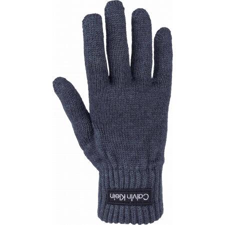 Calvin Klein FELT PATCH KNITTED GLOVES - Ръкавици