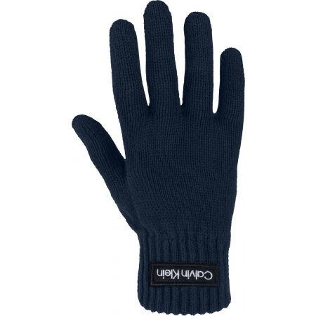 Calvin Klein FELT PATCH KNITTED GLOVES - Gloves