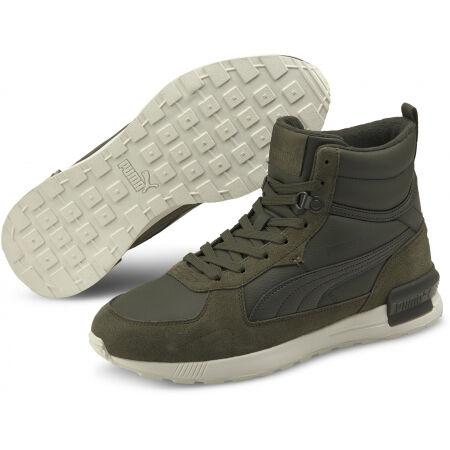 Puma GRAVITON MID - Pánské kotníkové boty