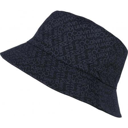 Calvin Klein ZIG ZAG MONOGRAM REV BUCKET HAT - Pălărie