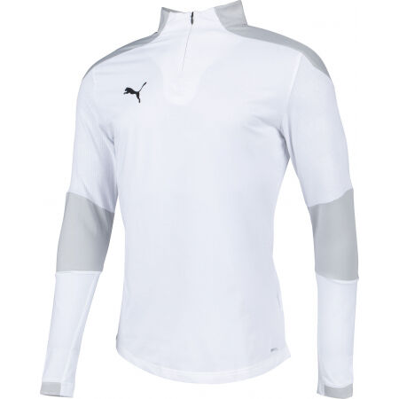 Men's sports T-shirt - Puma CUP TRAINING 1 4 ZIP TOP - 2