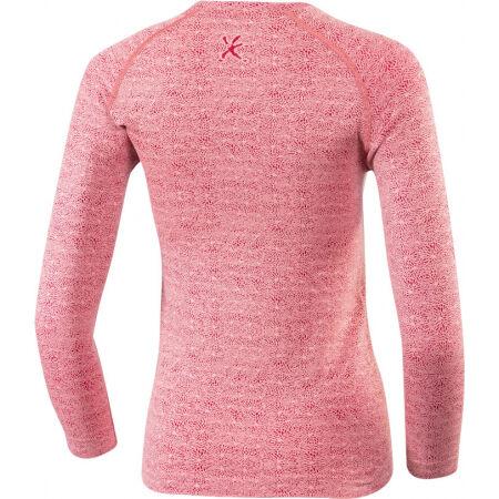 Dámské bezešvé triko s 3/4 rukávem - Klimatex LOKE - 2