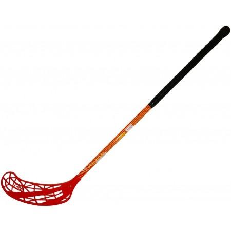 Florbalová hokejka - HS Sport LUNGEN RED 80CM