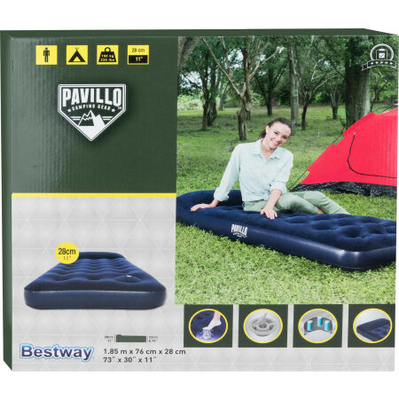 EASY INFLATE FLOCKED AIR - Inflatable mattress -  single bed - Bestway EASY INFLATE FLOCKED AIR - 2