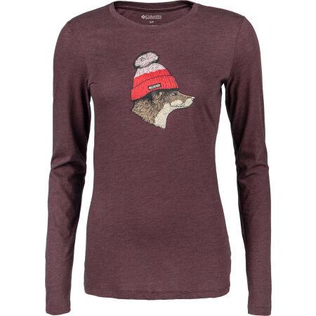Columbia HIDDEN HAVEN LS TEE - Women's T-shirt