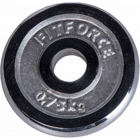 Fitforce OBCIAZENIE 0,75 KG CHROM - Obciążenie