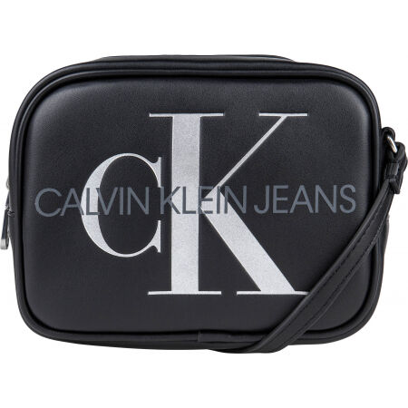 Calvin Klein SCULPTED CAMERA BAG SILVER - Women's shoulder bag