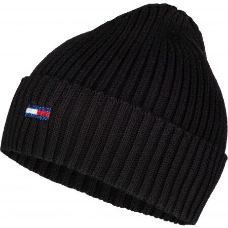 Tommy Hilfiger TJW ESS FLAG BEANIE - Дамска зимна шапка
