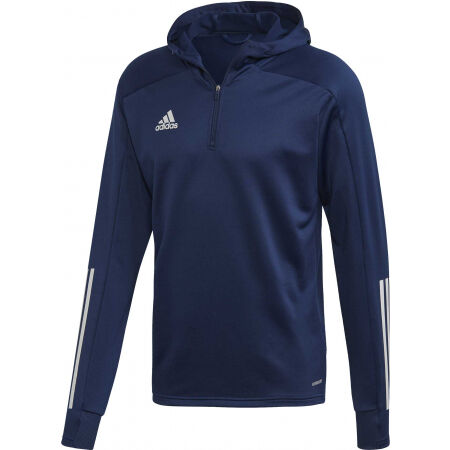 adidas CON20 TK HOOD - Bluza piłkarska męska