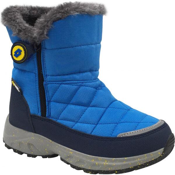 Lotto CAPTAIN modrá 32 - Dětská zimní obuv