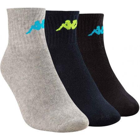 Kappa TRI 3PACK - Detské ponožky