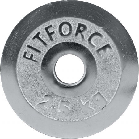 Fitforce WEIGHT DISC PLATE 2.5KG CHROME 30MM