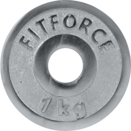Fitforce WEIGHT DISC PLATE 1KG CHROME 30MM