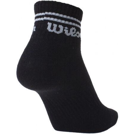 Pánské ponožky - Wilson 3PP MENS QUARTER - 3