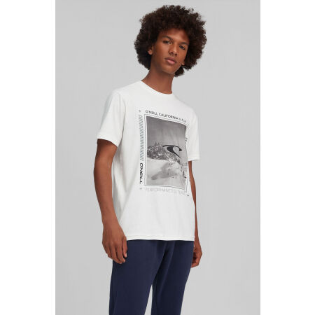 Koszulka męska - O'Neill MOUNTAIN FRAME SS T-SHIRT - 3