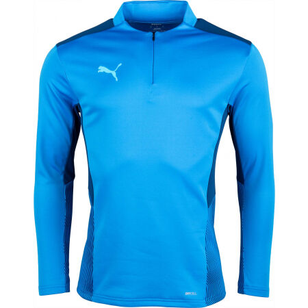 Puma TEAMCUP 1/4 ZIP TOP - Bluza treningowa męska