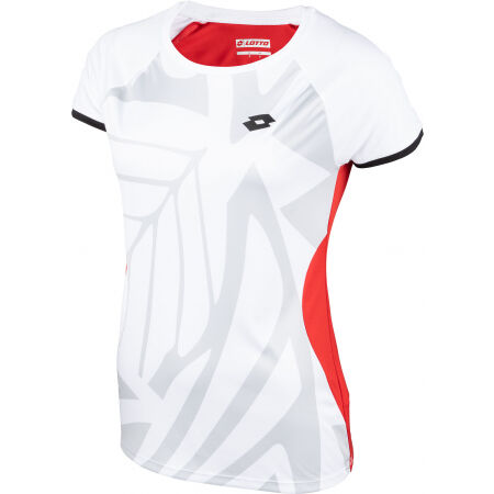 Dámské tenisové tričko - Lotto TOP TEN W TEE PRT 2 PL - 2