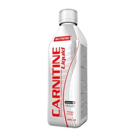 Tekutý L-Carnitin - Nutrend CARNITIN LIQUID 500ML