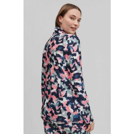 Bluza polarowa damska - O'Neill CLIME AOP FLEECE HZ - 4