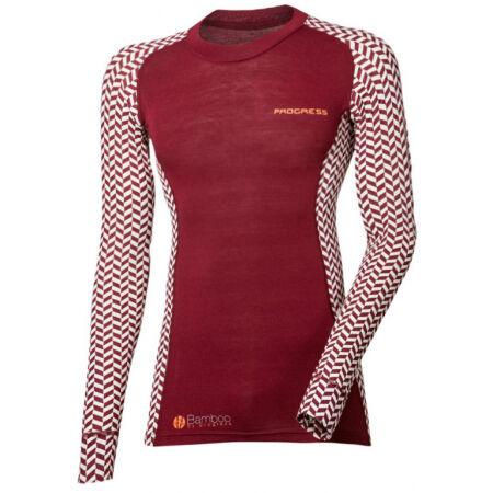 Progress SS BAMBOO LS-L - Дамска функционална блуза