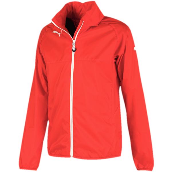 Puma RAIN JACKET JR. červená 164 - Dětská bunda