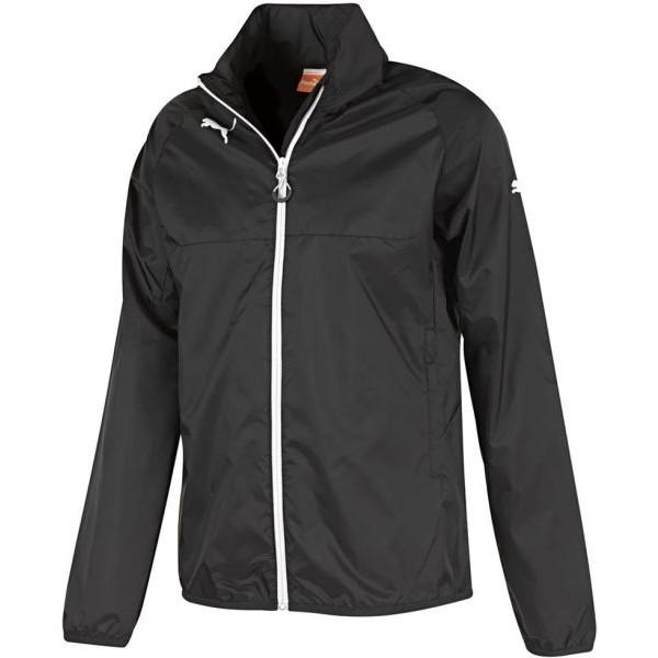 Puma RAIN JACKET JR. černá 164 - Dětská bunda