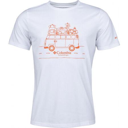 Columbia M SUN TREK SHORT SLEEVE - Pánske tričko